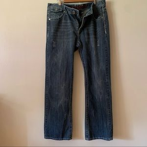 Xtreme Couture Denim Jeans Mens 36x34 Straight